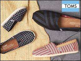 Massive 70% off on Toms