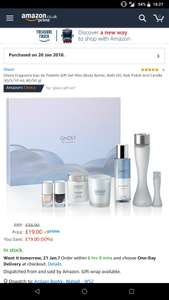 Ghost fragrance gift set £19 prime / £23.75 non prime @ Amazon