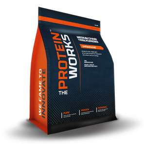 Medium chain triglycerides 500g £11.47 with codes / £14.46 delivered @ The Protein works