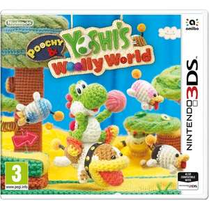 Poochy & Yoshi's Wooly World 3DS £22.99 @ 365Games