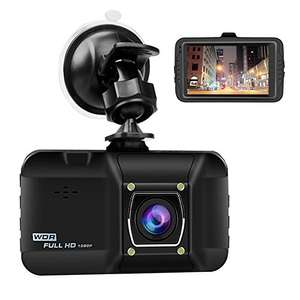OKEEY 1080p Dash Cam £19.99 delivered Sold by Okeey Direct and Fulfilled by Amazon - lightning deal