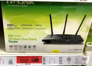 TP-Link Archer C59 AC1350 Wireless Dual Band Router £30 @ Sainsbury's