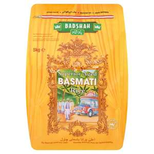 Badshah Superior Aged Basmati Rice 5Kg @ Tesco