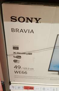 "Sony Bravia 49"" KDL49WE663 LED FHD 1080p Smart TV @ Sainsbury's instore for £410"