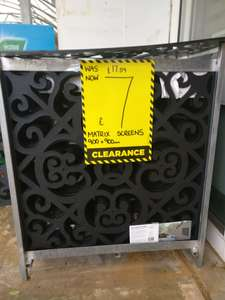 Garden plastic screening was £17.59 £7 @ Homebase