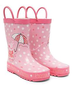 Peppa Pig Wellies £1 @ Mothercare