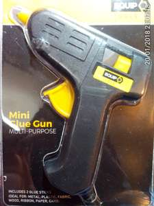 Mini glue gun £2.49 @ Home bargains Loads in store at Huddersfield (Leeds Road)