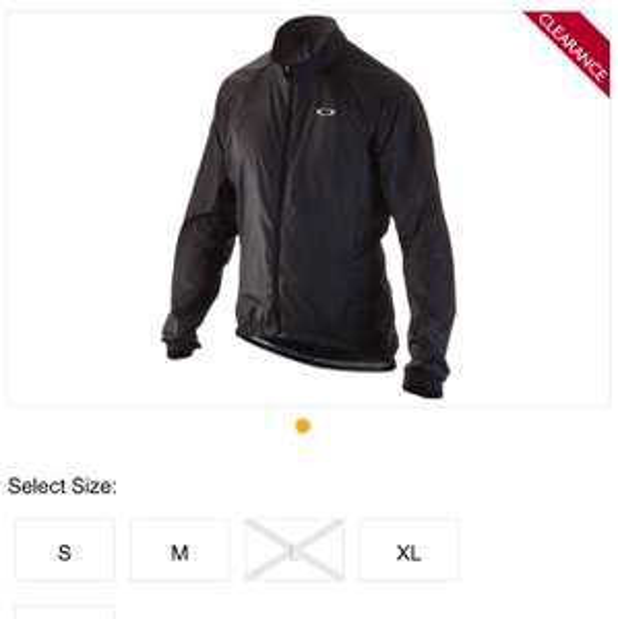 Oakley jawbreaker Road Cycling Jacket £31.99 @ Evans Cycles