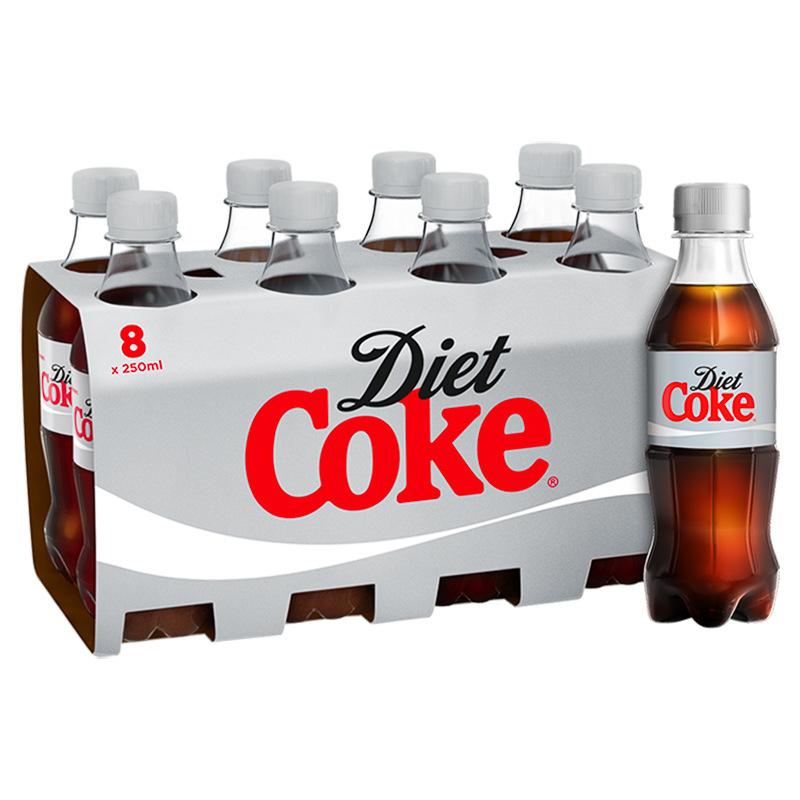 8x250ml bottles diet coke £1.49 @ Heron
