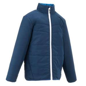 QUECHUA HIKE 100 BOYS' HIKING PADDED JACKET - at Decathlon £3.49