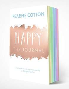 Happy: The Journal: A chance to write joy into every day and let go of perfect (Journals) Paperback by Fearne Cotton £7.99 Prime / £9.98 Non Prime delivered @ Amazon
