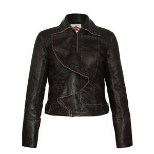 Women's Lee Cooper Vintage PU Jacket  sizes 8 & 10 £12 + £4.99 delivery @ Sports Direct