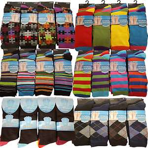 12 pairs Uber funky socks in 6 bright designs £8.95 Del @ Ebay - sold by sports-hub-247