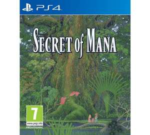 [PS4] Secret of Mana – £21.99 Delivered – Argos discount offer