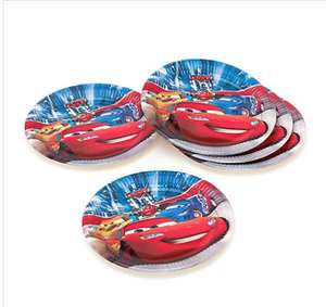 Disney Pixar Cars 8x Party Plates 20p / £4.15 delivered @ Disney store, e.g 80 Plates for £5.95