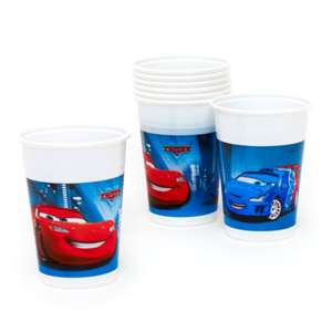 Disney Pixar Cars 8x Party Cups 20p / £4.15 delivererd @ Disney shop