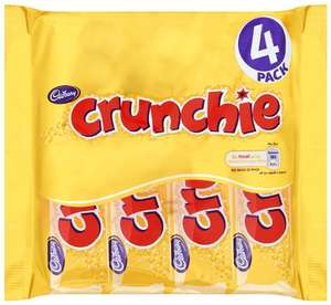 4 Cadbury crunchie bars for £1 @ One stop