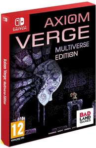 Axiom Verge Multiverse Edition Switch £29.99 @ Zavvi (Potentially £26.99 with code)