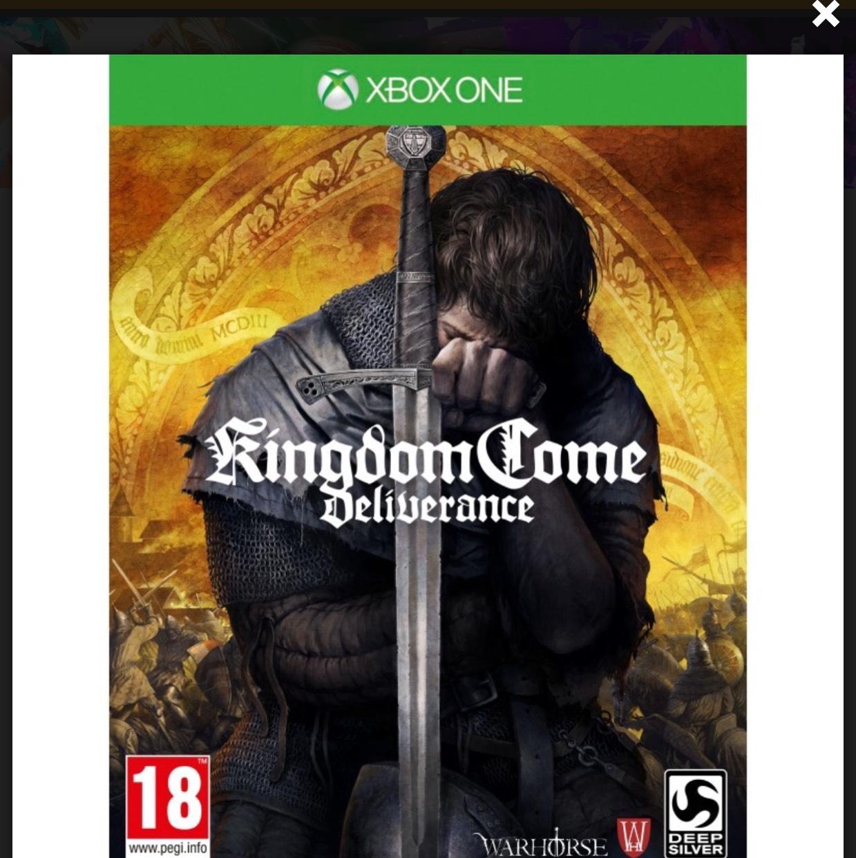Kingdom Come: Deliverance (Xbox One) Pre-Order £20.97 @ Microsoft Store Argentina