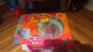 Trolls Party Cake Morrison's Instore 55p - Eastbourne