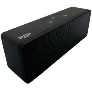 EBay Bush Stereo Portable Wireless Speaker - Black Manufacturer refurbished £6.99 gradedelectricalsdirect / Ebay