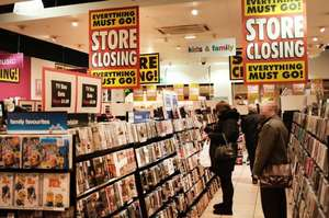 20% off everything at hmv Silverburn - store closing