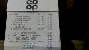 Macvities Rich Tea x 2 × £2 @ Co-op