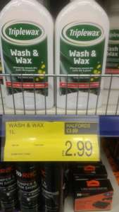 Car Shampoo Wax discount offer