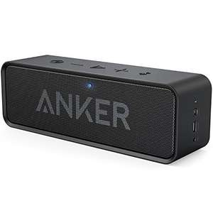 Anker SoundCore Bluetooth Speaker Portable Bluetooth 4.0 Stereo Speaker with 24-Hour Playtime  £23.16 Sold by AnkerDirect and Fulfilled by Amazon - Lightning deal
