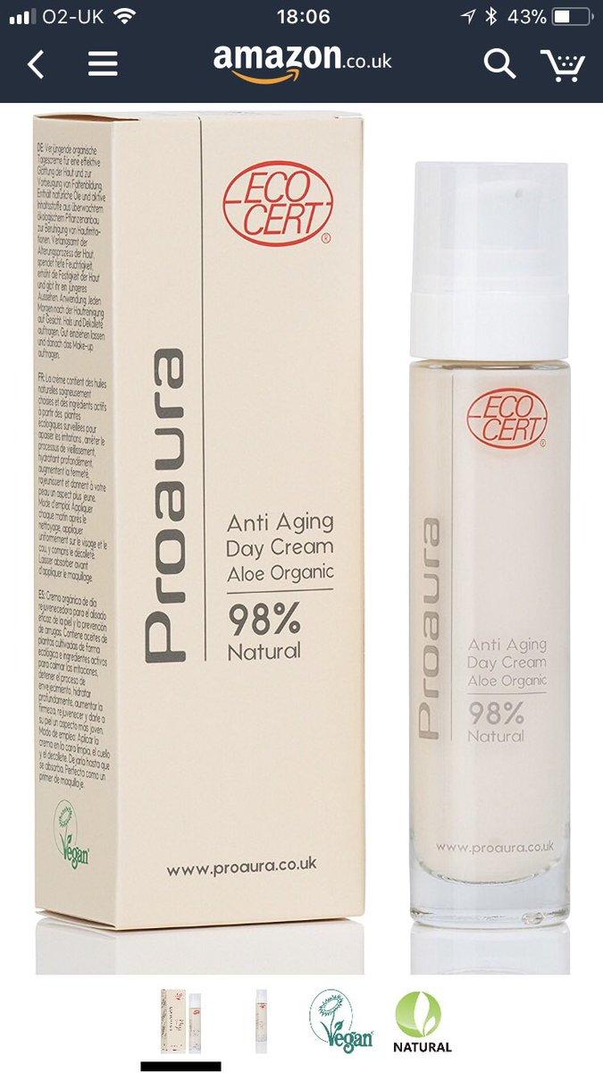 Free Proaura Organic Day Cream Face Moisturiser Samples