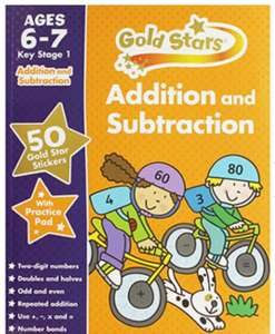 2+2 is 4-1 that's 3 quick maths. Many children's learning books age 5 to 6 and 6 to 7 1/2 price - £2 @ The Works