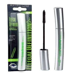 Maybelline Illegal Definition Mascara at B&M instore Beckton £1