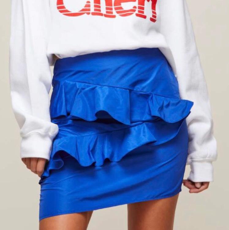 Blue Ruffle Mini Skirt £4 from Miss Selfridge (free c&c)