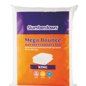 Slumberdown King Mattress Protector Mega Bounce £5.99 Free Delivery @ Aldi