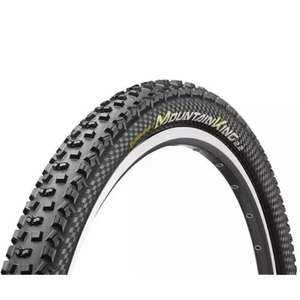 Continental Mountain King II Performance Folding Tyre Black £9.65 @ ACycles
