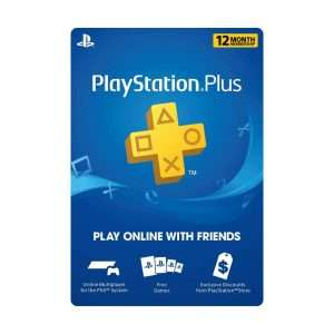 12 Month PlayStation Plus PSN £38.86 @ ShopTo