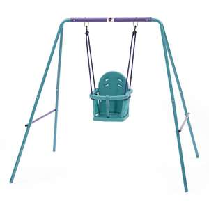 Plum 2-in-1 Swing Set  £20 @ Tesco direct