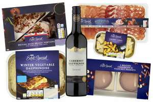 Asda launch luxury 3 course Valentines meal deal £15 - and it includes wine + Other meal deal offers + Other Valentines items