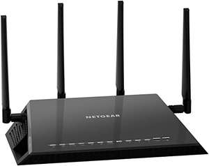 NETGEAR R7800-100UKS Nighthawk X4S - AC2600 4 x 4 MU-MIMO Smart WiFi Dual Band Gigabit Gaming Router, Compatible with Amazon Echo/Alexa Back to £129.99 @ Amazon