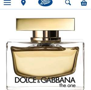 Dolce & Gabbana The One Eau de Parfum 75ml £59.90 + £3.99 delivery  - Notino