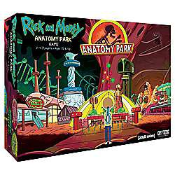 Rick and Morty Anatomy Park Board Game (age 15yrs +) was £29.99 now £22 C+C at Tesco Direct