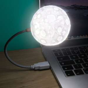 Paladone - Usb Moon Lamp was £10 now £3 Del w/code @ Debenhams