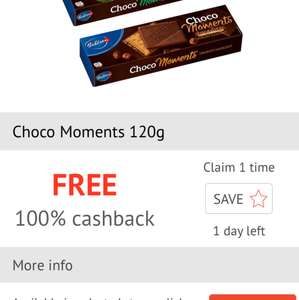 checkoutsmart free bahlsen choco moments - £1.99 at tesco