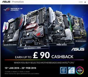 Intel i7 8700K and Asus Z370-P Prime mobo bundle @ £443.92 / £403.92 with cashback! at Participating Dealers
