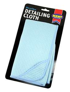Kent Car Care GKEQ6800 Microfibre Detailing Cloth - was £4.15 now £0.99 (Prime) / £4.98 (Non Prime) @ Amazon