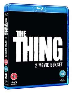 The Thing (Double Pack Including Original) [Blu-ray]  £5 (Prime) / £6.99 (non Prime) at Amazon