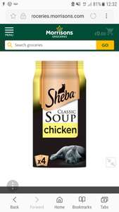 Sheba classic chicken soup (catfood) now 7 boxs for £3 @ Morrisons