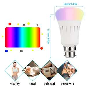 Lightning deal on LED Smart Bulb, Works with Amazon Alexa £15.28 (Prime) / £19.27 (non Prime) Sold by LED-365BUY and Fulfilled by Amazon