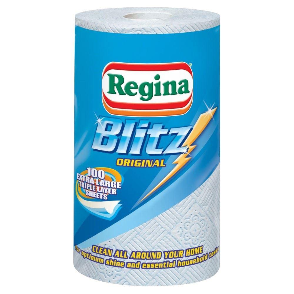 Regina Blitz All Purpose Kitchen Towels 100 Sheets £1.39 at Co-op