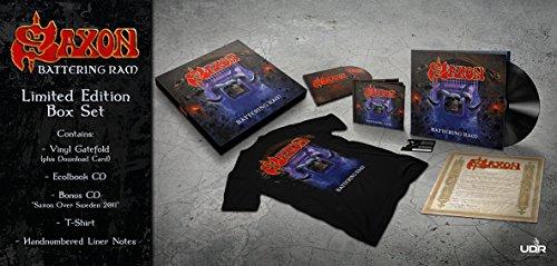 saxon deluxe vinyl / cd / t-shirt  boxset £22.99 at AMAZON
